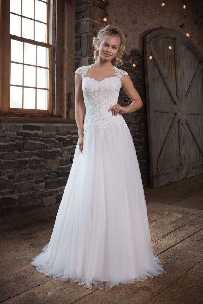 Sweetheart Gowns - Stil 1122: Duchesse-Kleid Mit Weichem ...