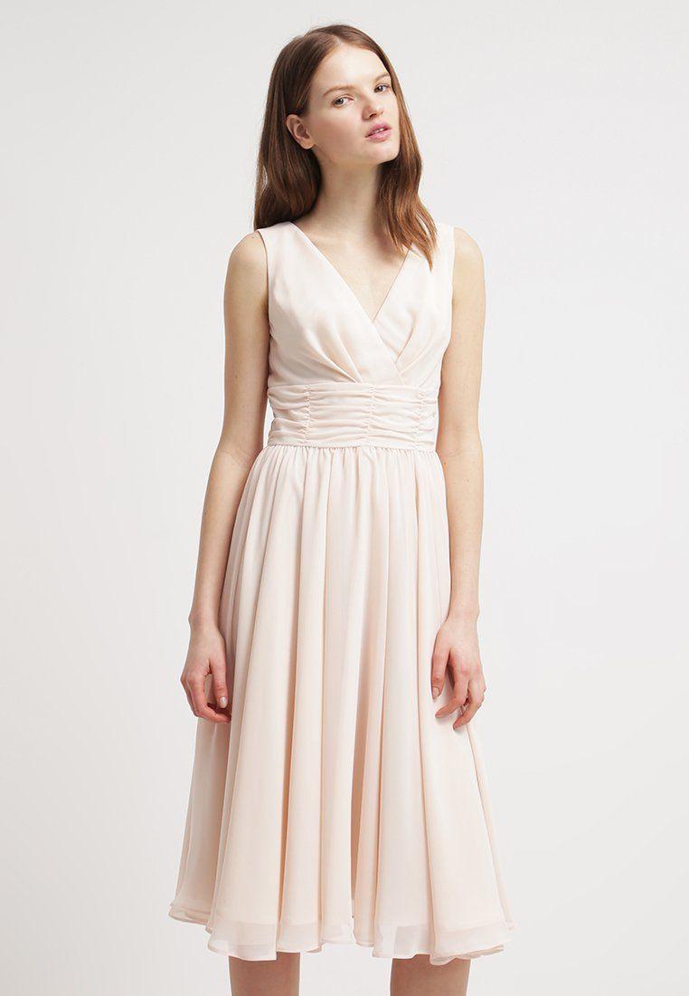 Swing Cocktailkleid / Festliches Kleid - Pastellorange