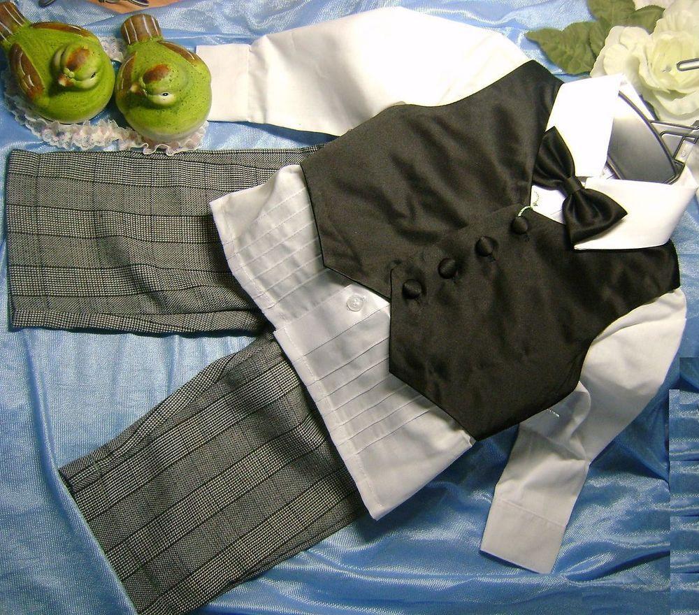 Taufanzug Junge Baby Anzug Taufe Hochzeit Festliche Kleidung