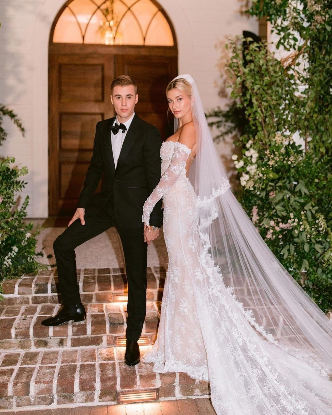 The Biebers Wedding Justin Bieber Hailey Bieber In 2020
