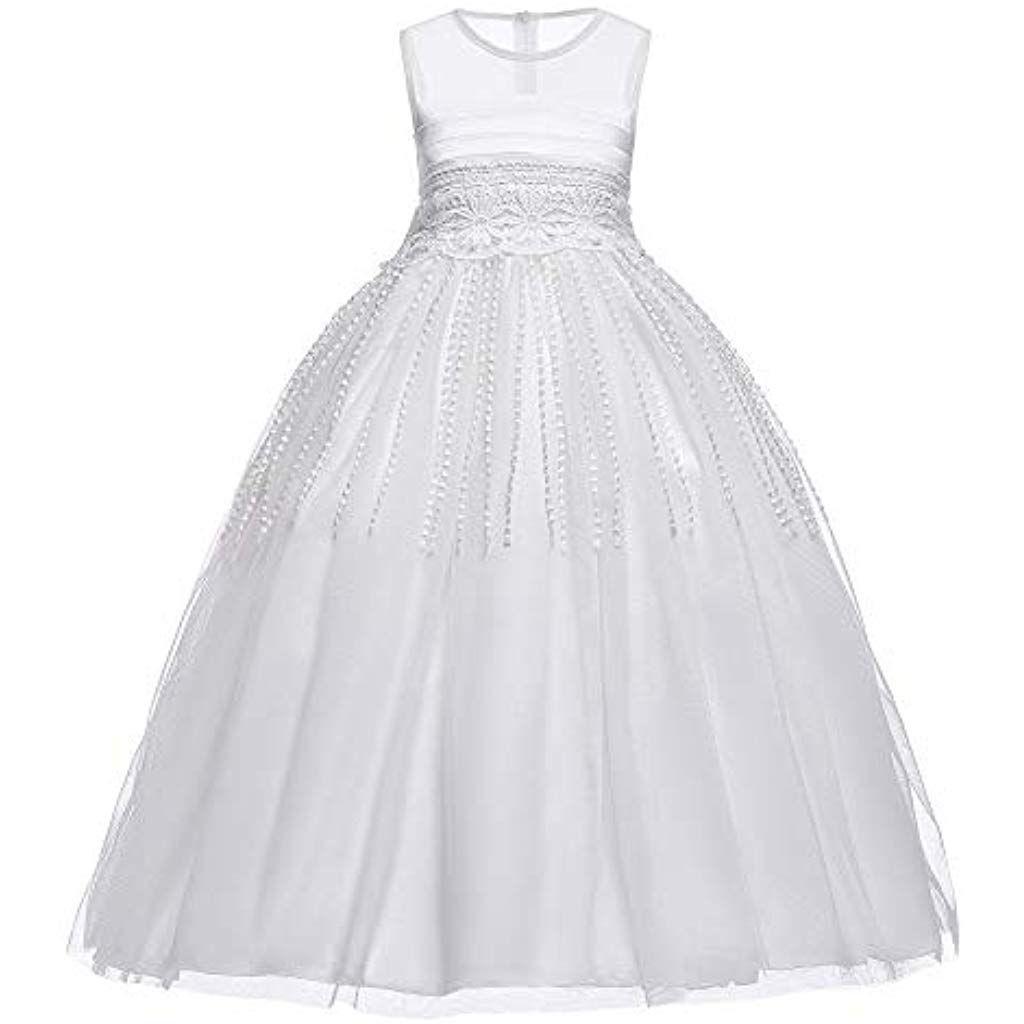 The86Cd Mädchen Prinzessin Festzug Langes Kleid Kinder Prom