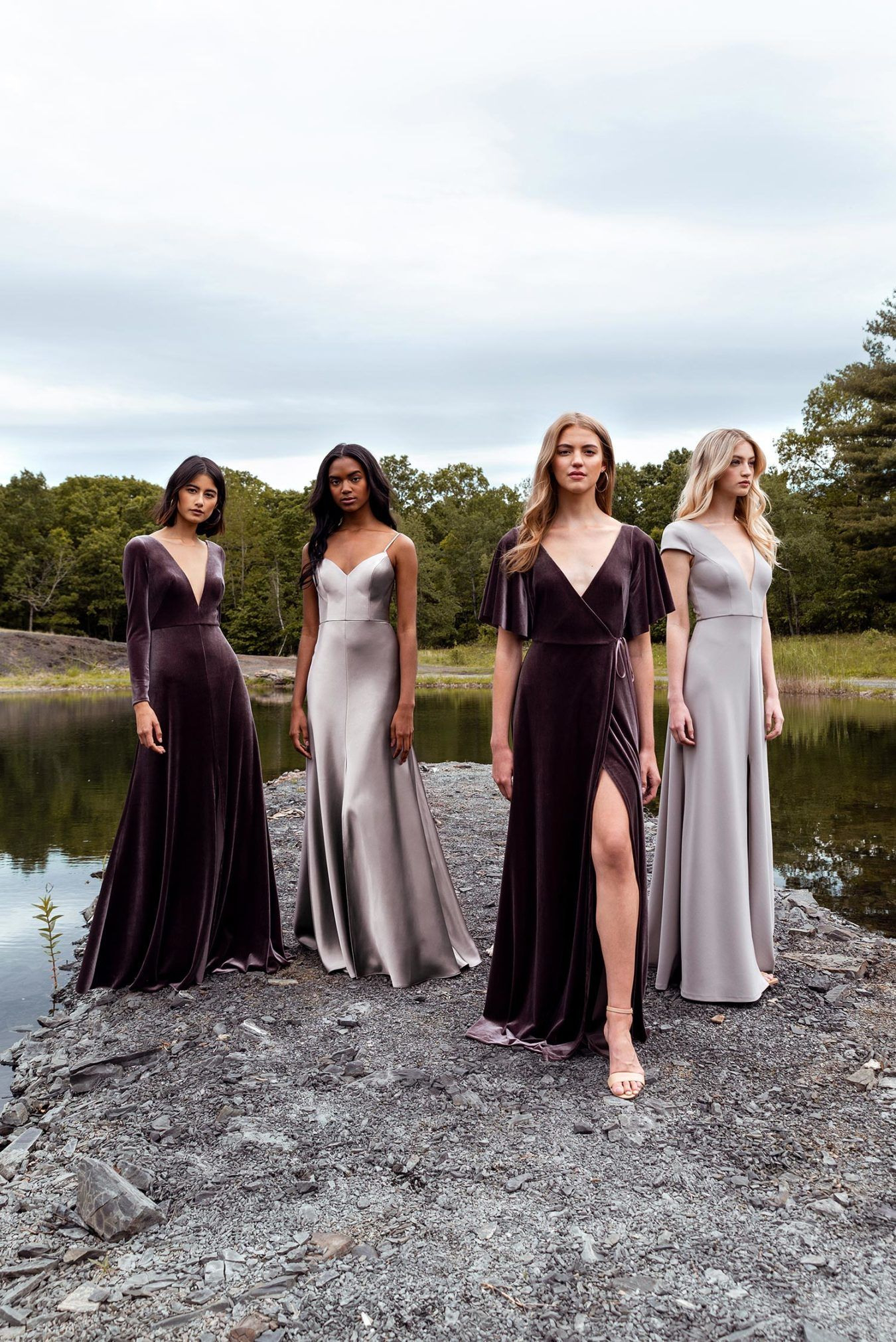 This Is How You Pull Off The Mismatched Bridesmaid Look