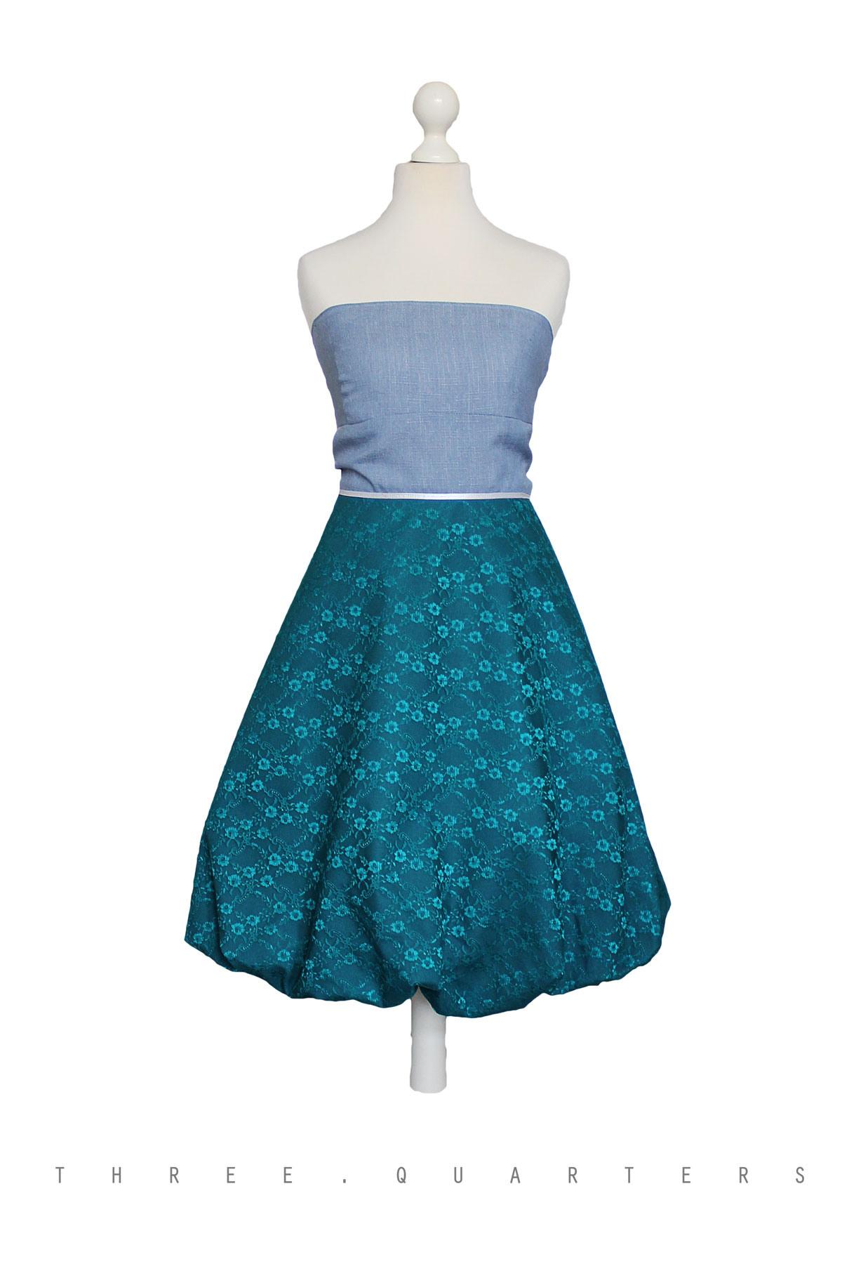 Three-Quarters - Kleid, Spitzenkleid, Hochzeit