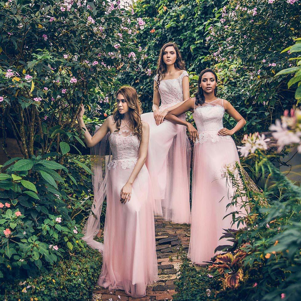 Traumhaft Schöne Brautjungfernkleider In Verschiedensten