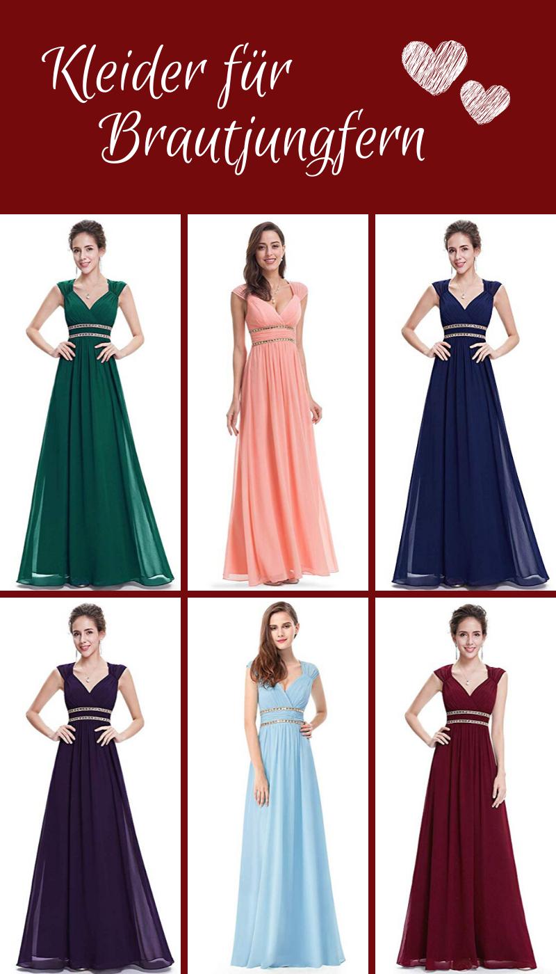 Traumhaftes Abendkleid In Vielen Verschiedenen Farben