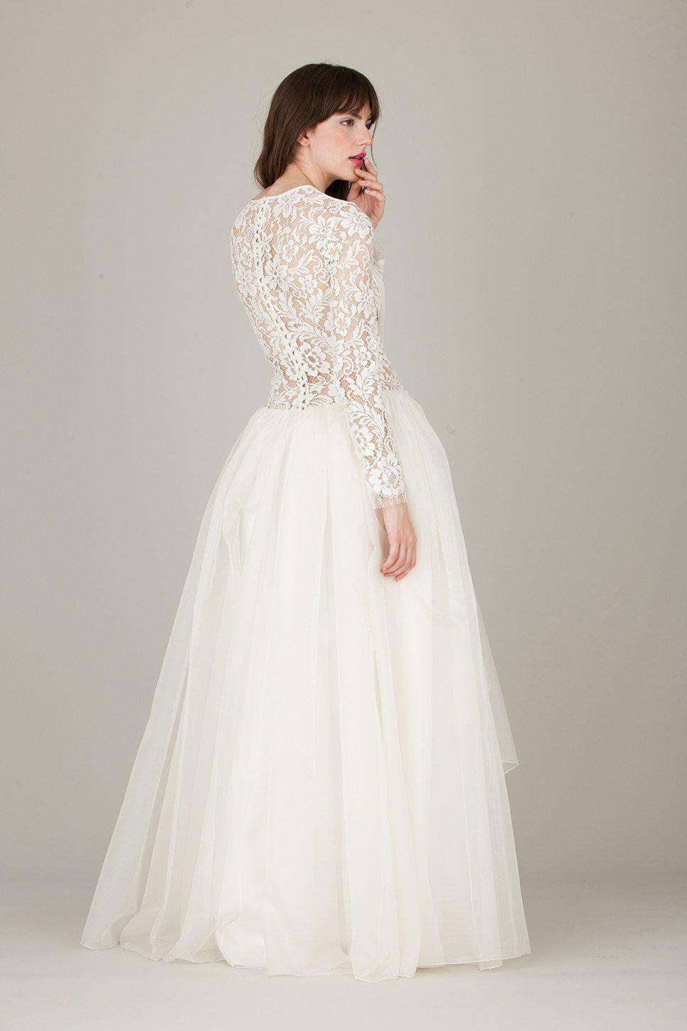 Traumhaftes Brautkleid Von #therese&luise | Brautmode, Kleid