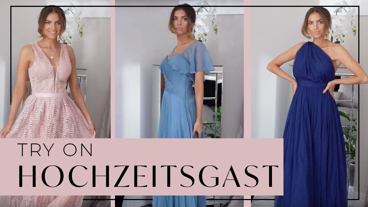 Try On Haul I Hochzeitsgast Kleider I Weddingguest Dresses
