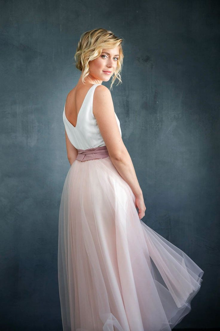Tüllrock, Rosa, Wadenlang In 2020 | Blumenmädchen Kleid