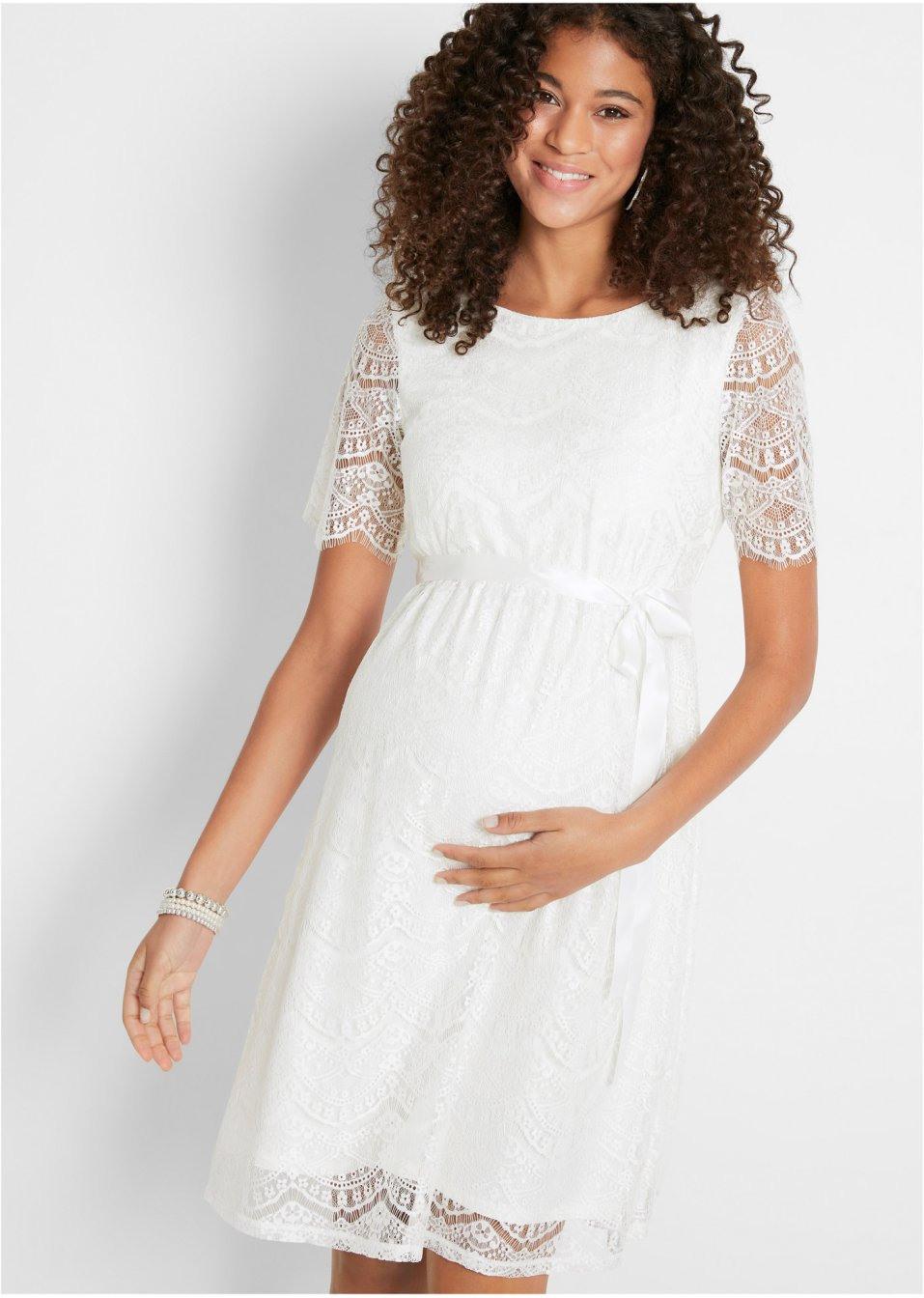 Umstands-Hochzeitskleid
