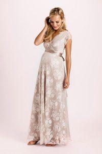 Umstandsbrautkleid Eden Lang Rose | Umstandskleid Hochzeit