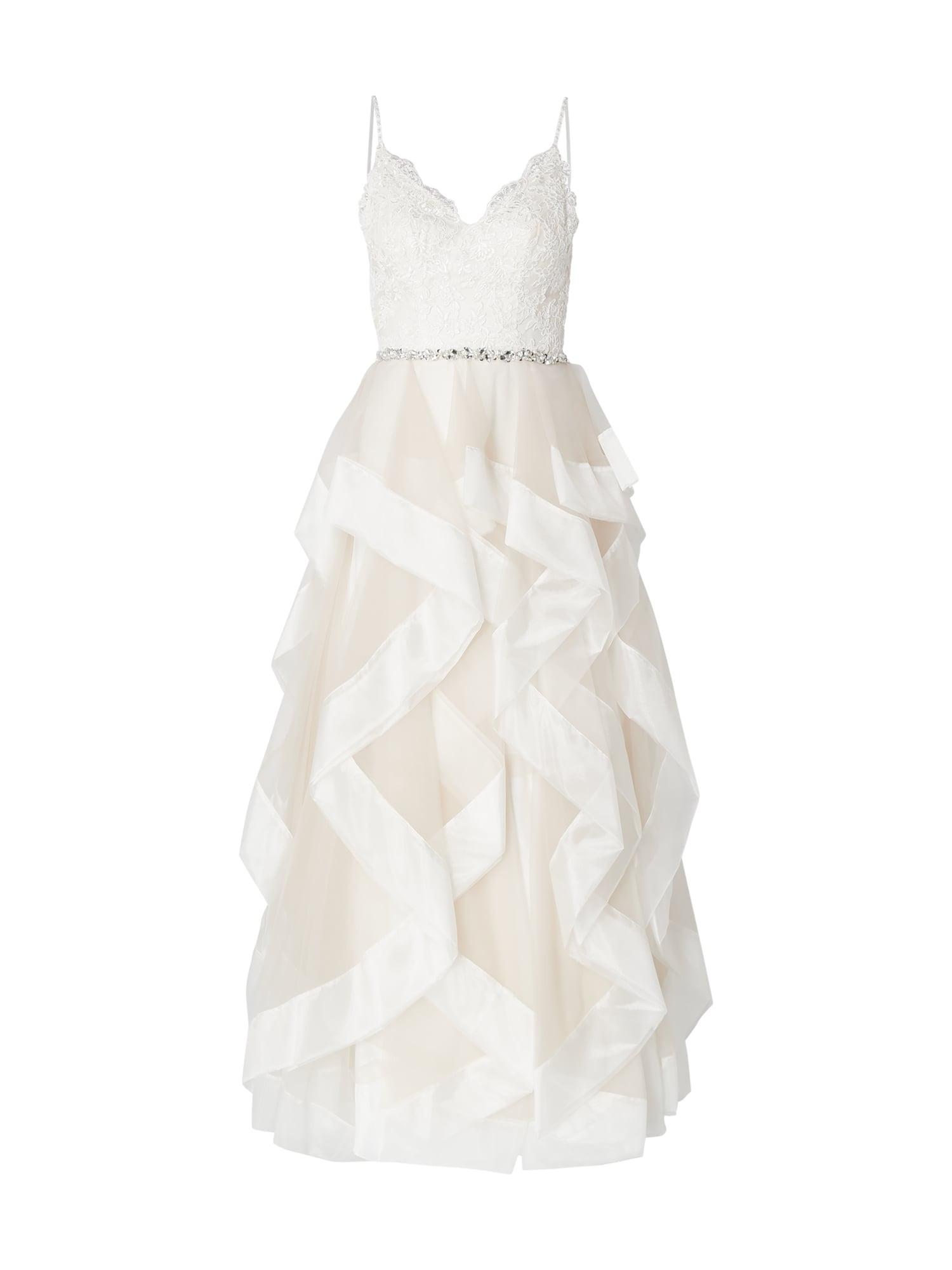 Unique Brautkleid Aus Mesh Im Stufen-Look In Weiß Online Kaufen (9898494) ▷  P&c Online Shop