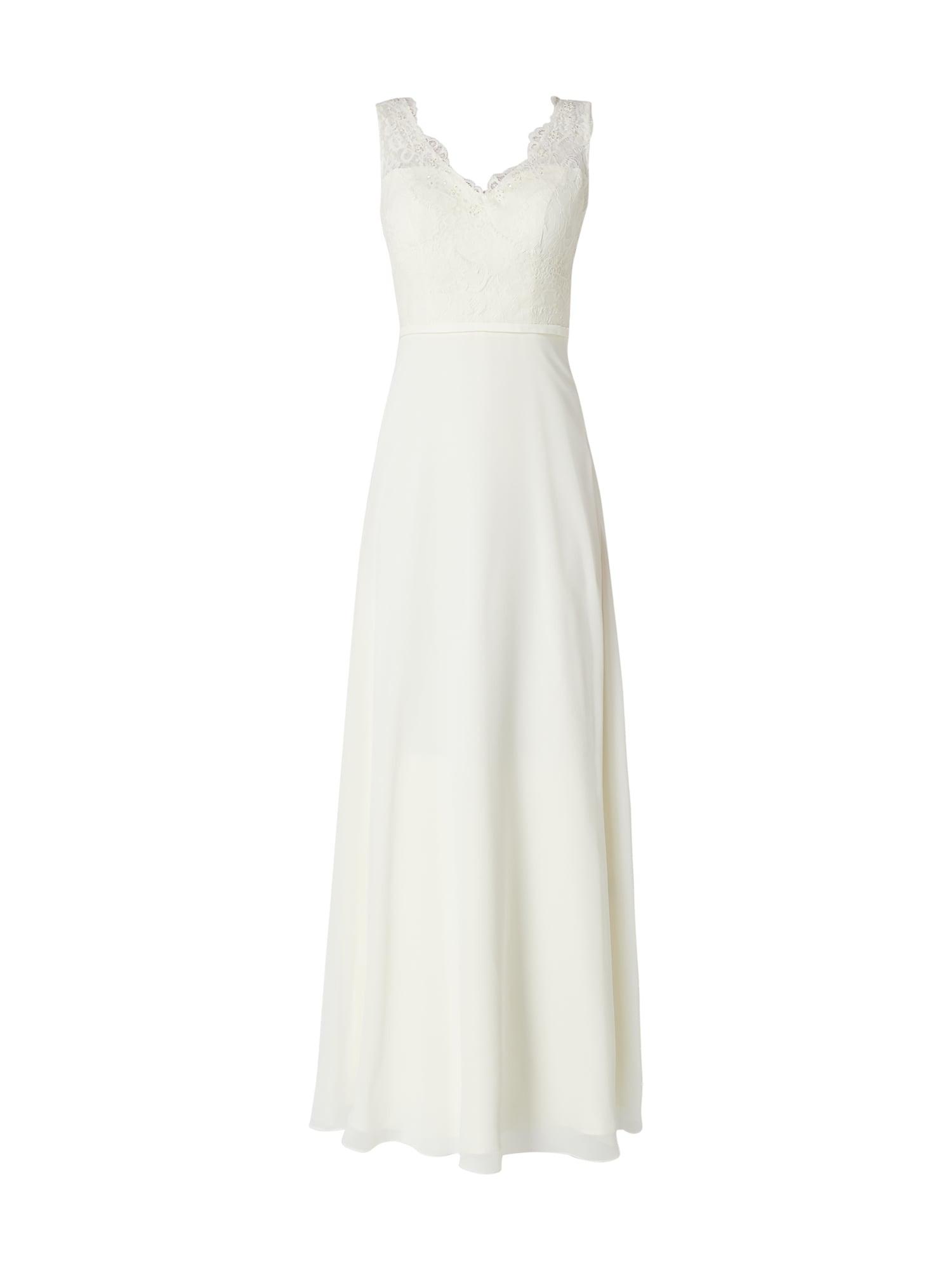 Unique Brautkleid Mit Ziersteinbesatz In Weiß Online Kaufen (9898488) ▷ P&c  Online Shop