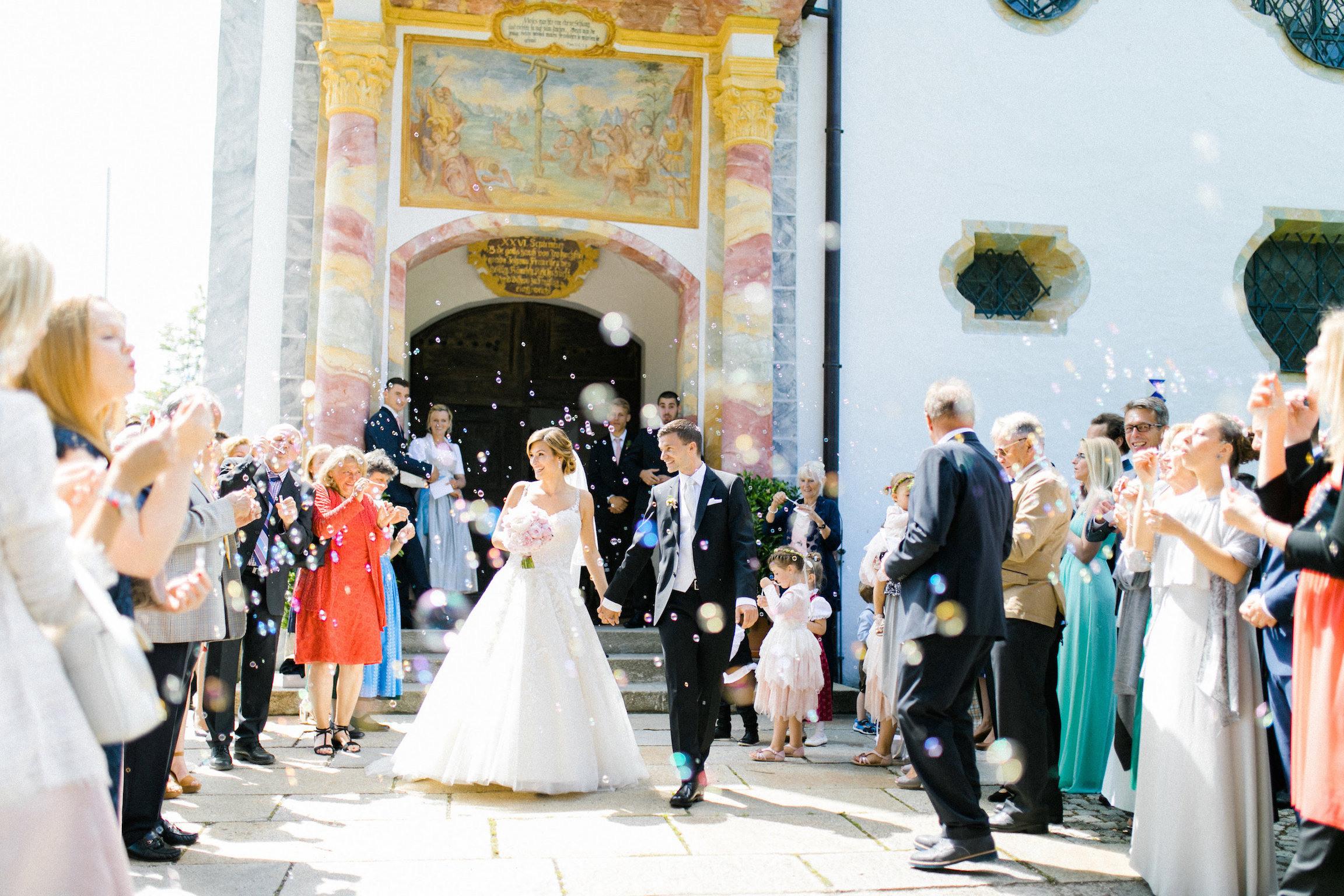 Unsere Hochzeit In Bad Tölz - Die Kirchliche Trauung