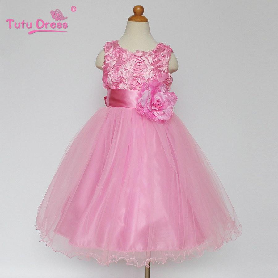 Us $10.75 30% Off|Baby Mädchen Blume Prinzessin Kleid Für Hochzeit Braut  Süße Tutu Kinder Kleider Für Kleinkind Mädchen Kinder Weihnachten  Kleidung-In