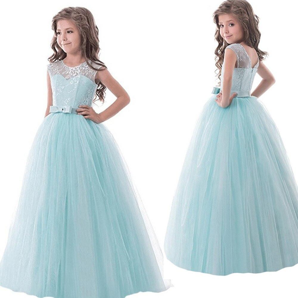 Us $12.12 12% OffBlume Spitze Mädchen Kleid Kleid Für Hochzeit