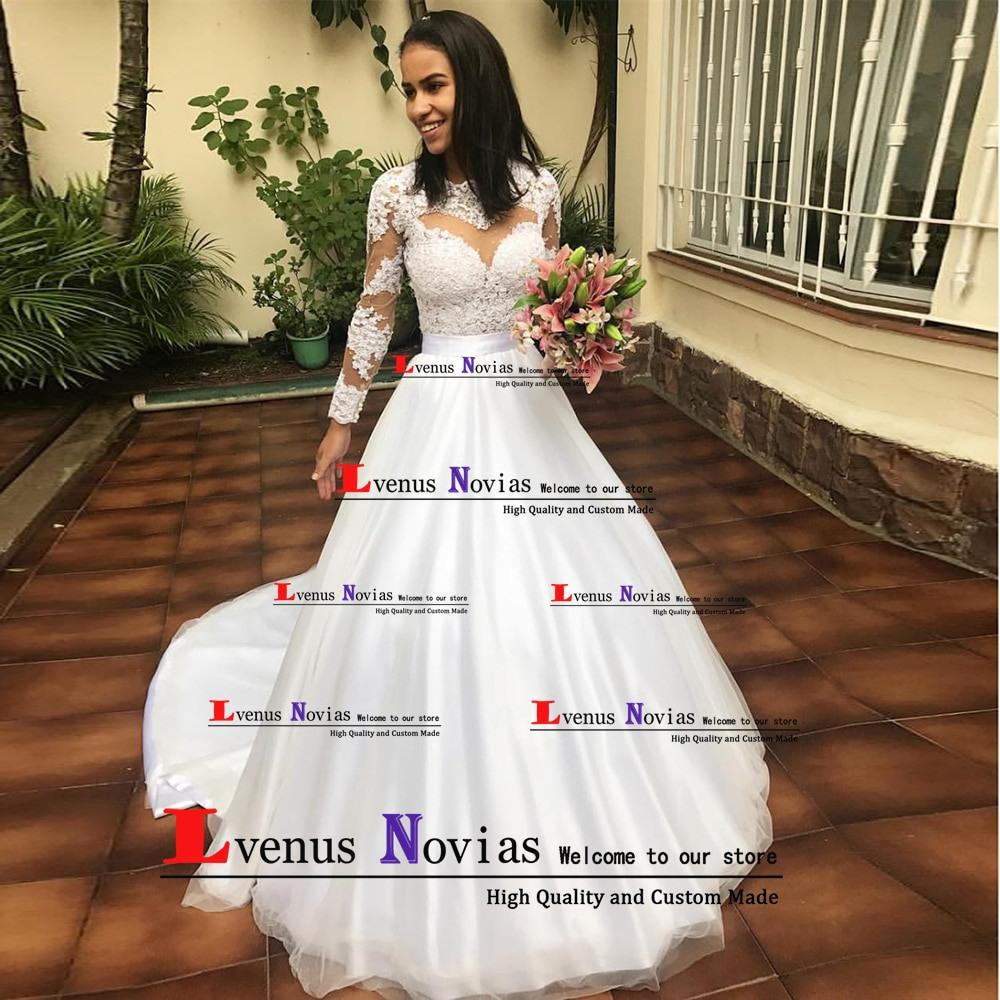 Us $123.42 34% Off|Günstige Brautkleider Shop Online China Braut Kleider  Mariage Sexy Böhmischen Langarm Hochzeit Kleid 2019 Bruidsjurken  Casamento-In