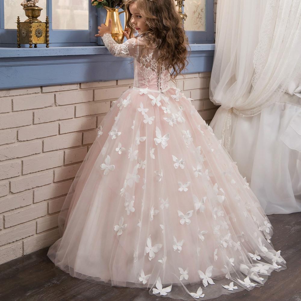 Us $71.69 6% Off|Kleider Für Mädchen Alter 11 Kleine Kinder Prom Kleider  Kinder Hochzeit Kleider Für 12 Jahre Türkei Blume Mädchen Kleider Mit Lange
