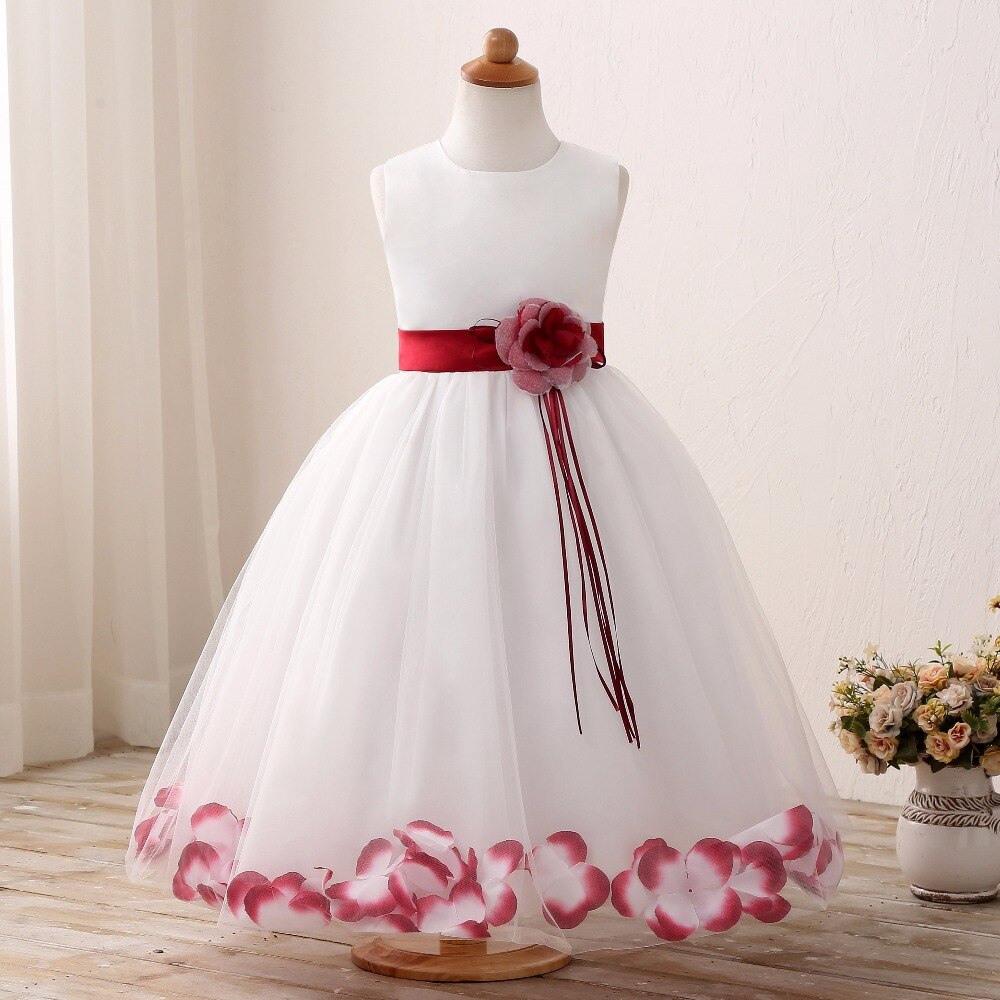 Us $8.99 30% Off Taufe Baby Blume Prinzessin Kleid Für Hochzeit Formale  Tragen Mädchen Kleidung Kinder Kleider Mädchen Kleidung Kinder Größe 6 7 8  9