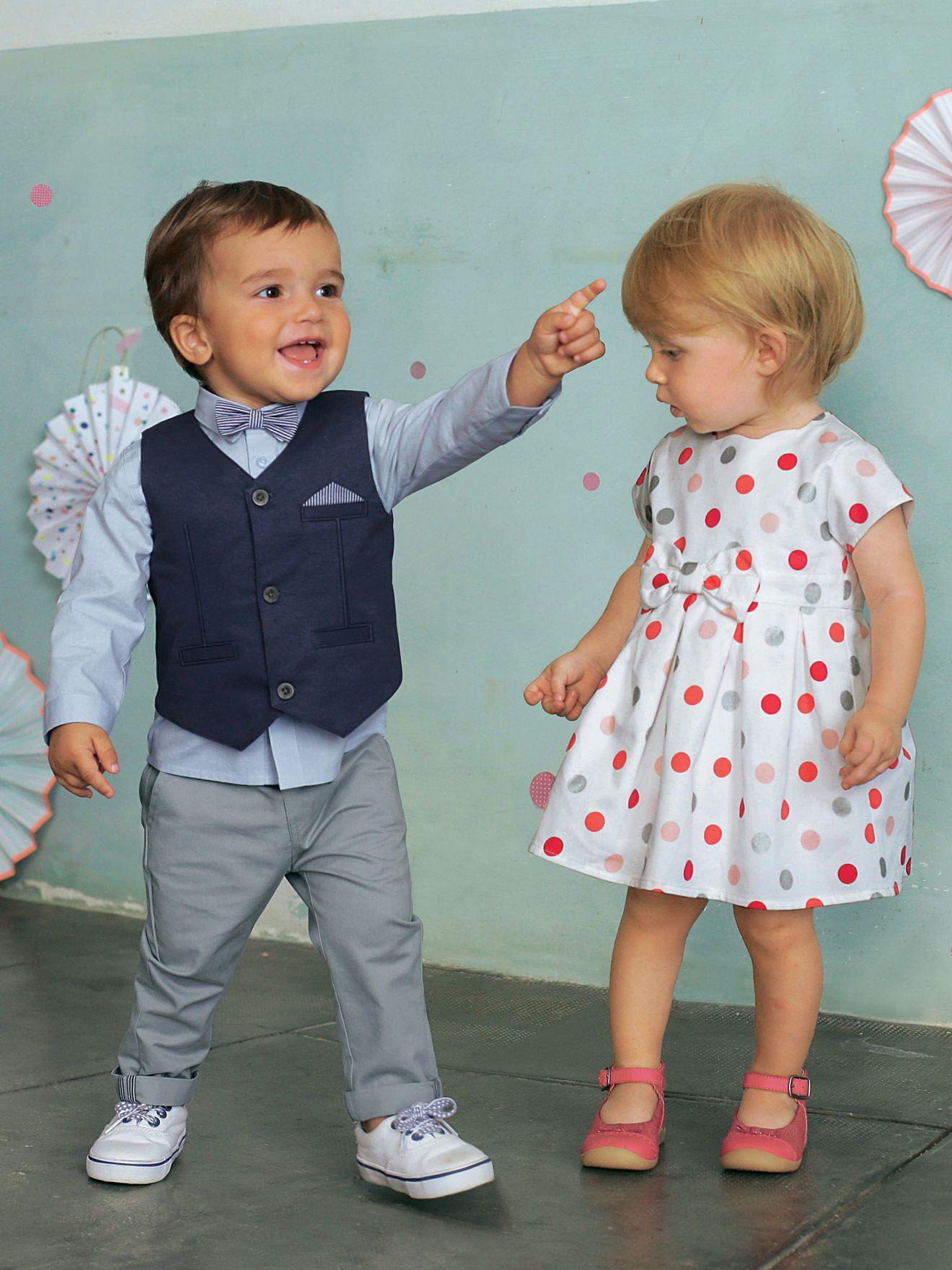 Vertbaudet Baby Jungen, Festliches Anzug-Set, Taufanzug In