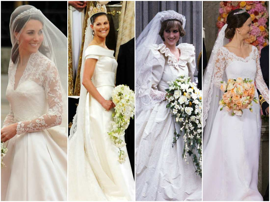 Victoria, Kate Middleton & Co: Die Brautkleider Der Royal