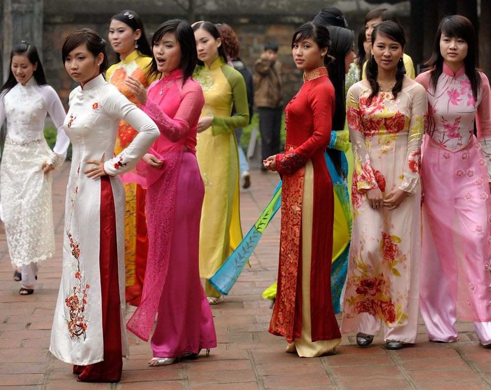 Vietnam Country Profile | Traditionelle Kleidung, Kleidung