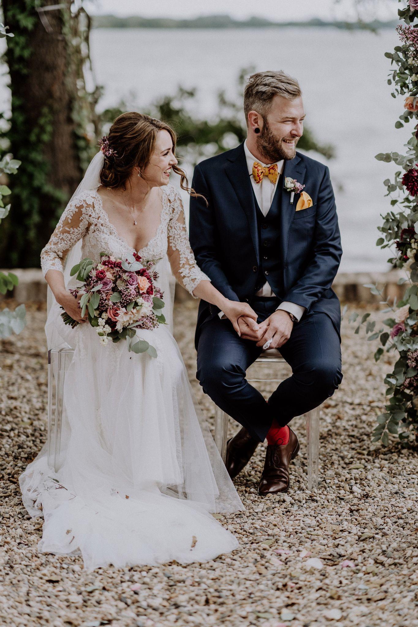 Vintage Hochzeit Von Anabell & Paul Mit Französischem Flair