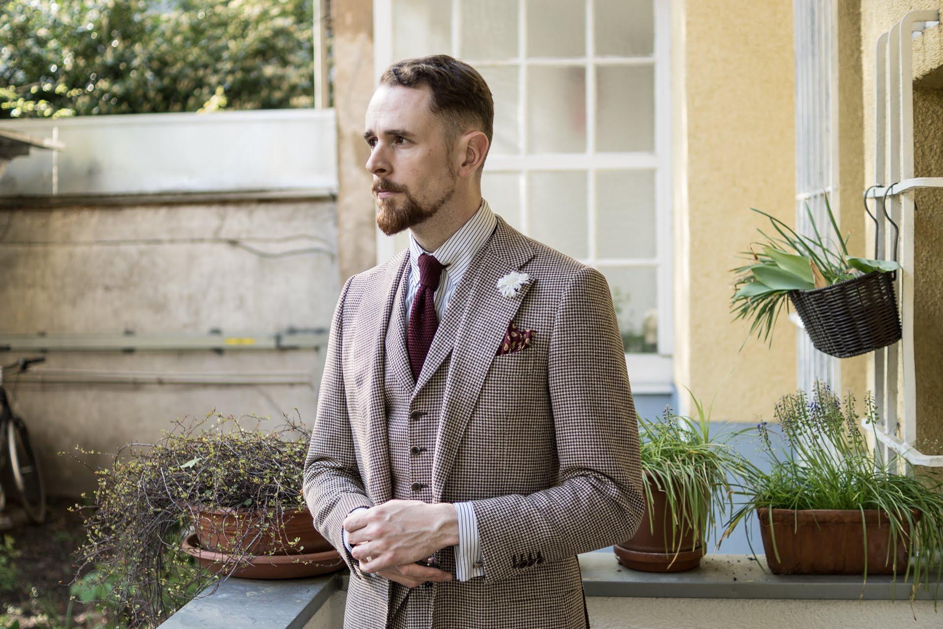 Vintage Hochzeit - Welchen Anzug Trägt Der Bräutigam