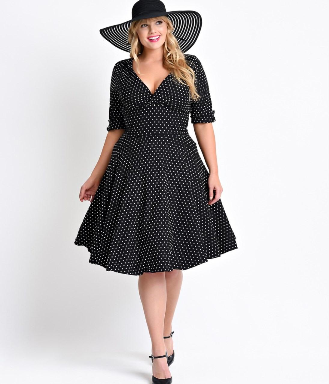 Vintage Kleider Große Größe - Trends 2019