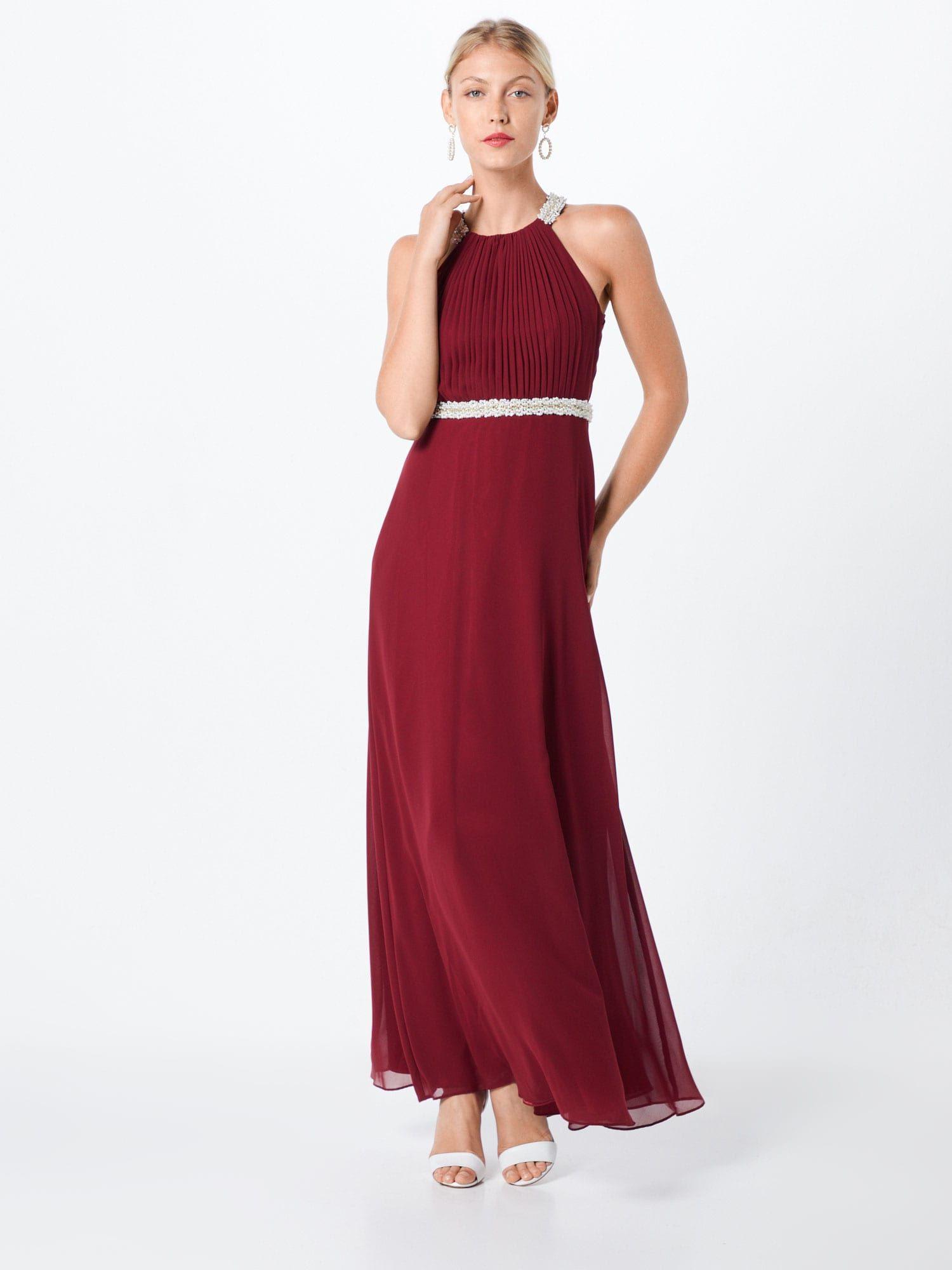 Vm Vera Mont Kleid Damen, Burgunder, Größe 20  Kleider - Abendkleid