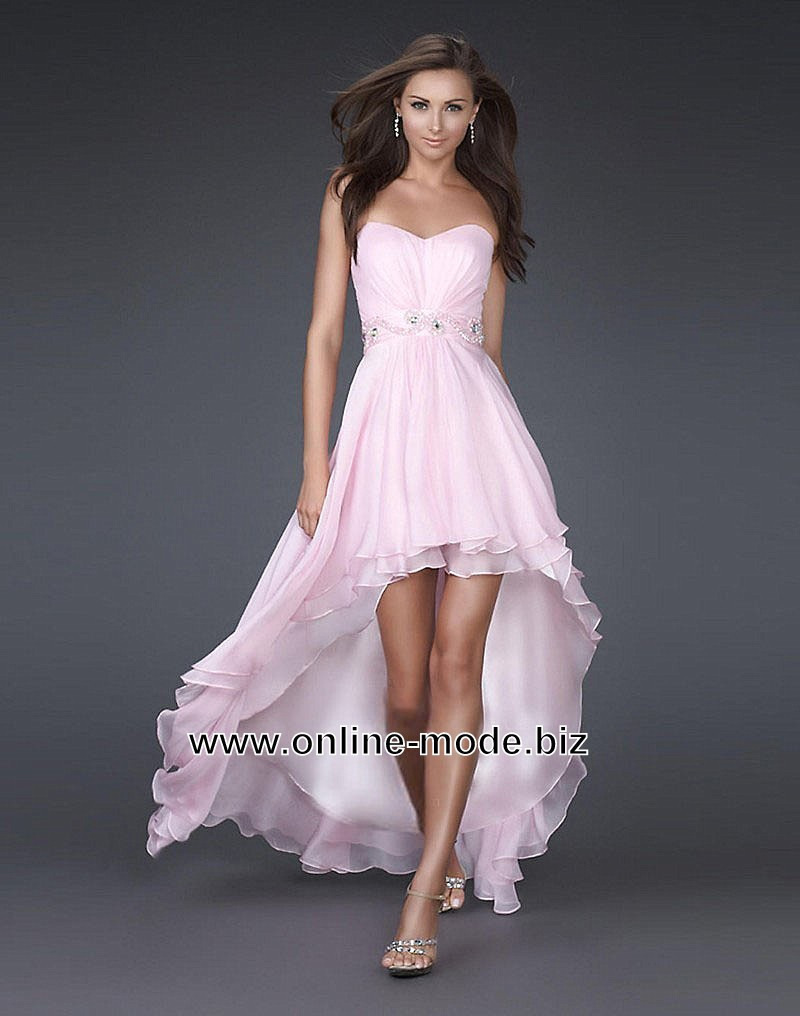 vokuhila kleid lang reduced 1701f ab029