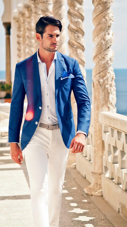Was Trägt Man Zu Einem Blauen Sakko Für Damen | Hochzeit
