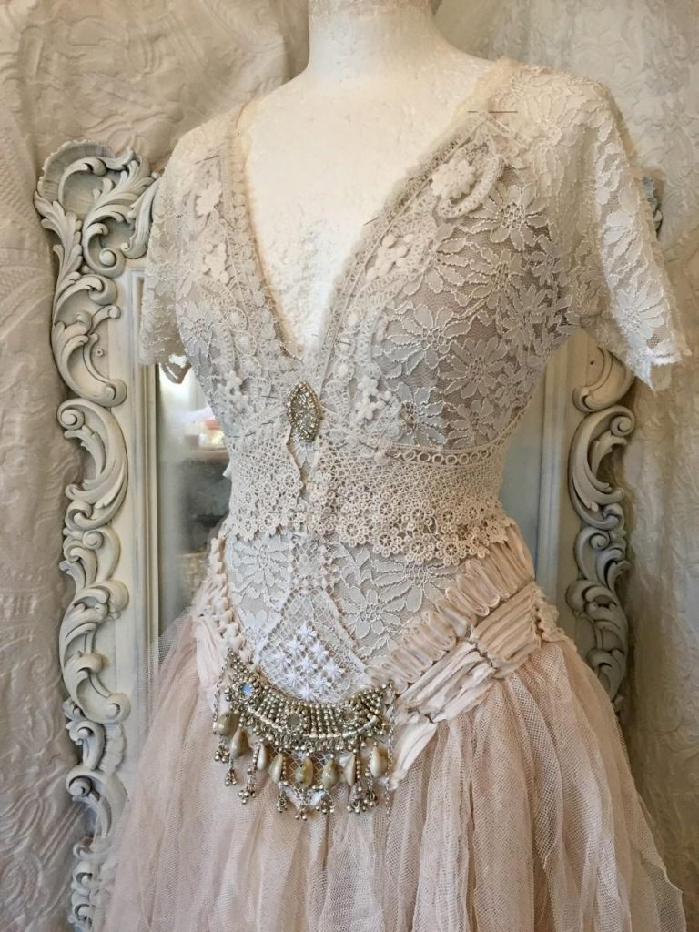 Wedding Dress Bohemian Style,boho Wedding Dress,rawrags - Abendkleid