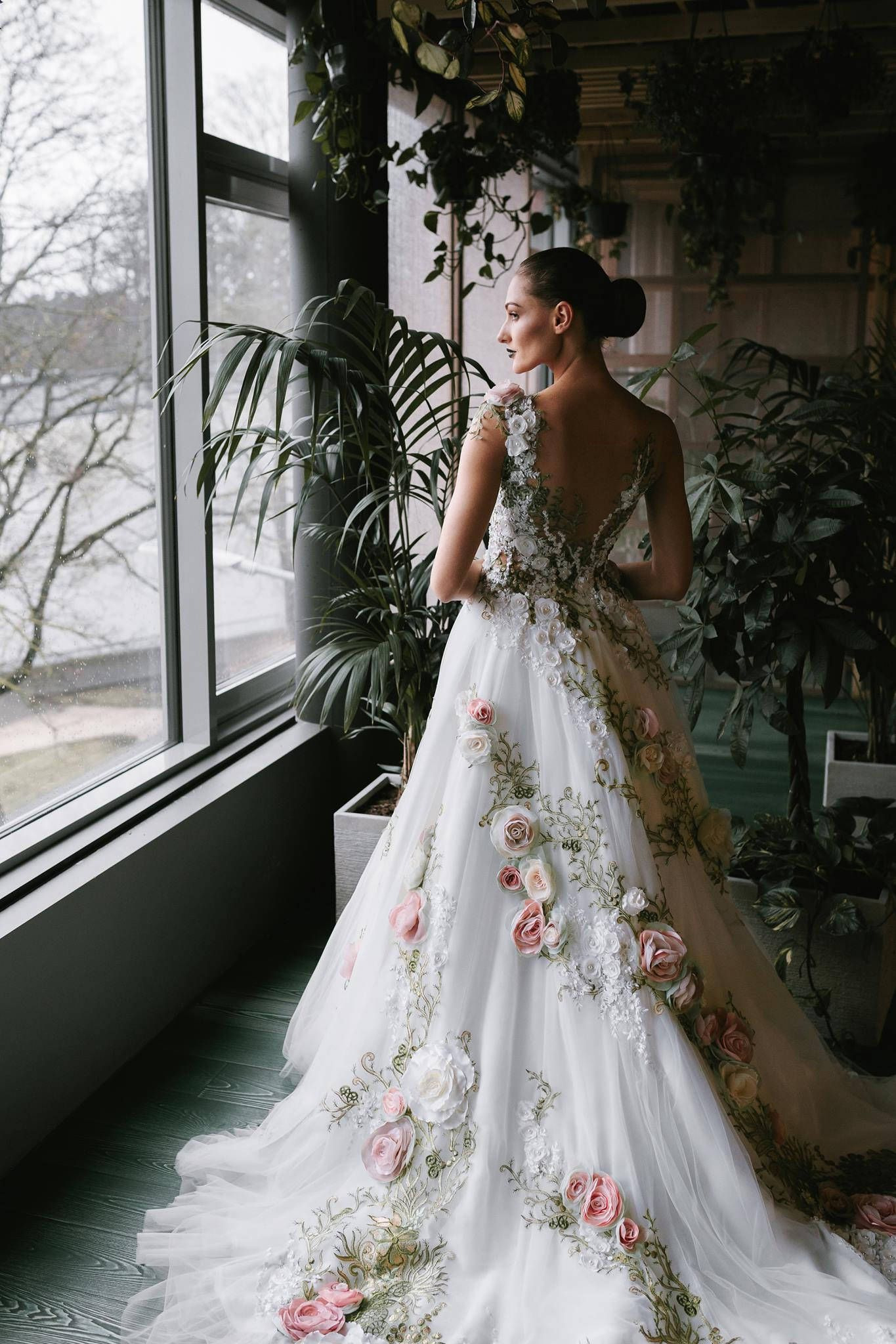Wedding Dress From Inga Ezergale Design Collection 2019