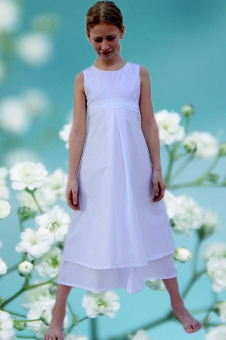 Weiße Festliche Kleider Aus München Von Ma-Eins, Für Mädchen