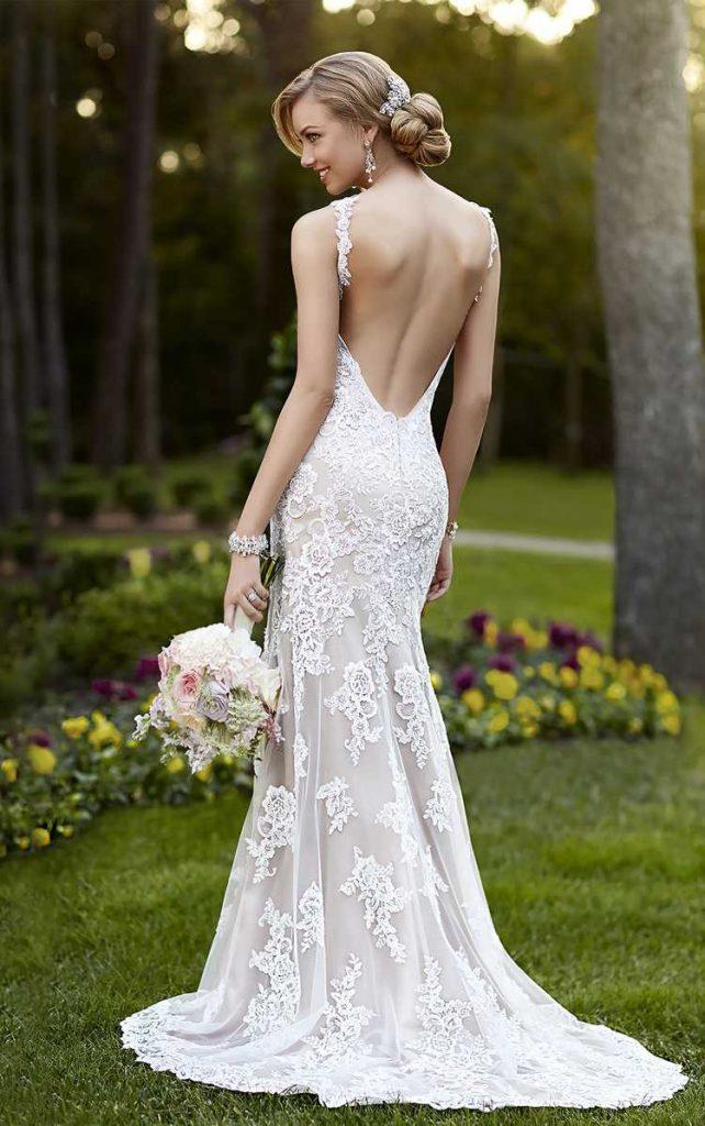 Wer Das Brautkleid Rückenfrei Tragen Möchte, Muss ...
