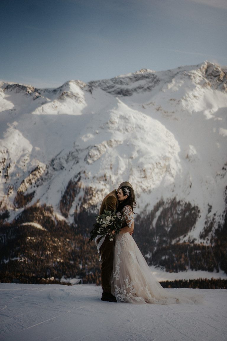 Winterhochzeit In St. Moritz | Winterhochzeit, Morgen Der