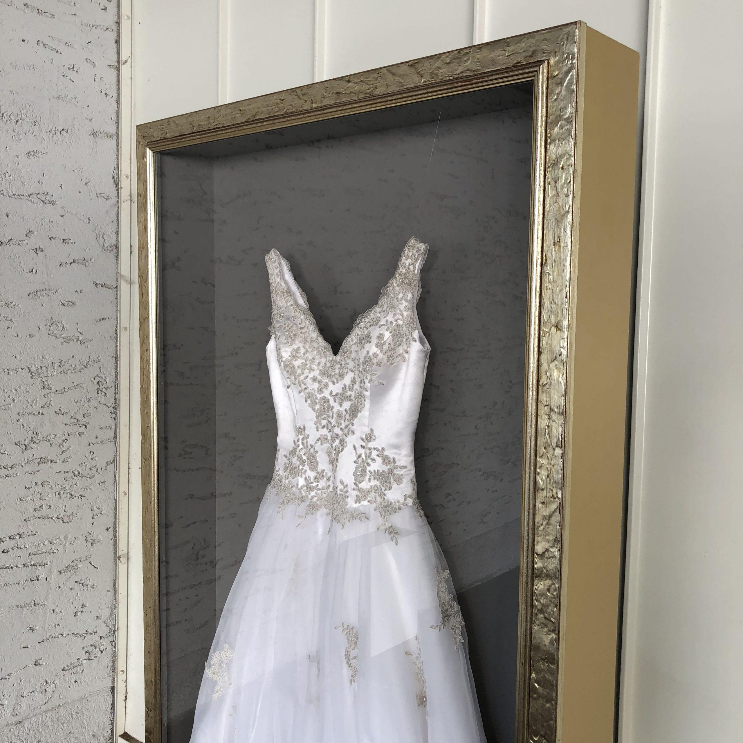 Wir Rahmen Dein Hochzeitskleid / Brautkleid Im