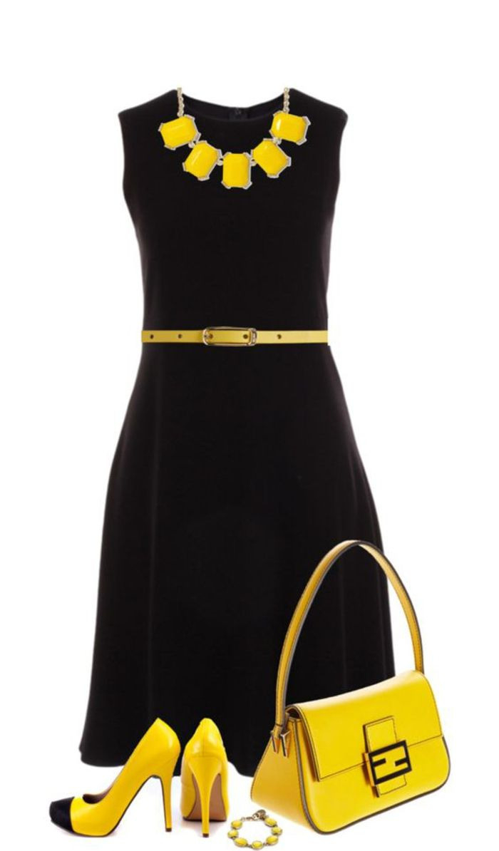 15 Top Kleid Gelb Schwarz Bester Preis Genial Kleid Gelb Schwarz Ärmel