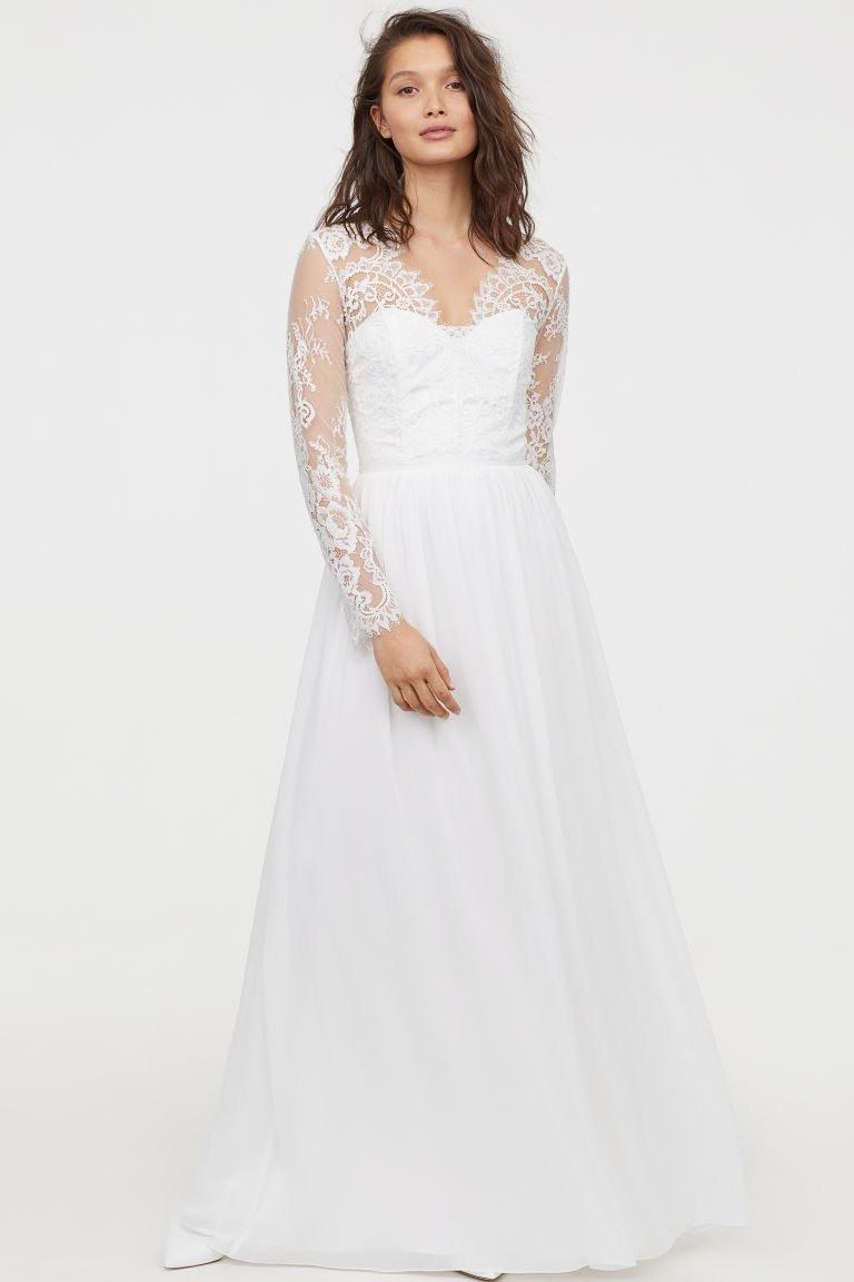 Yes! Die Schönsten Brautkleider Von H&m - Frieda Therés