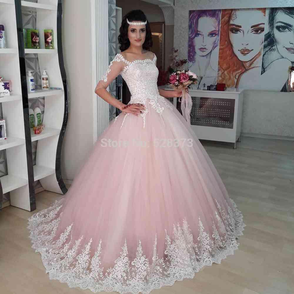 Ynqnfs Rwd26 Robe De Mariee Hochzeitskleid Elegant Half
