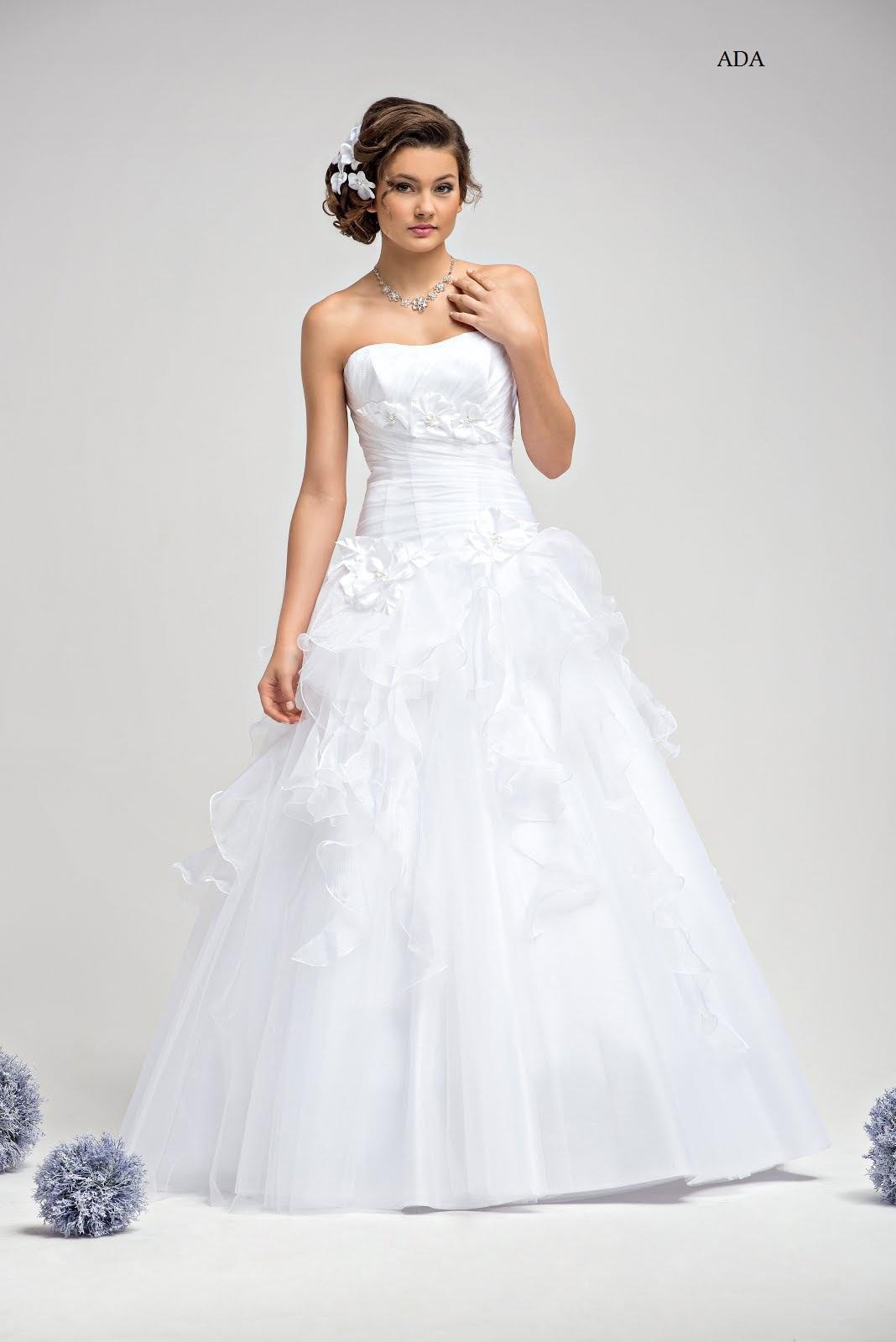 Zauberhaftes Brautkleid Hochzeitskleid Ada Brautkleider Günstig
