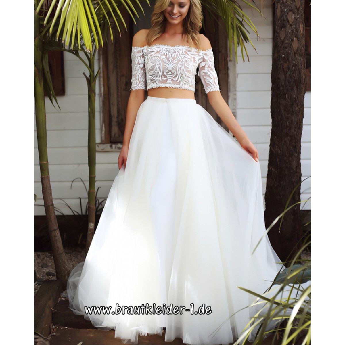 Zweiteiliges Brautkleid 13 - Abendkleid