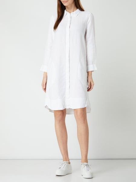 0039 Italy Hemdblusenkleid Aus Leinen Modell 'Gracia' In