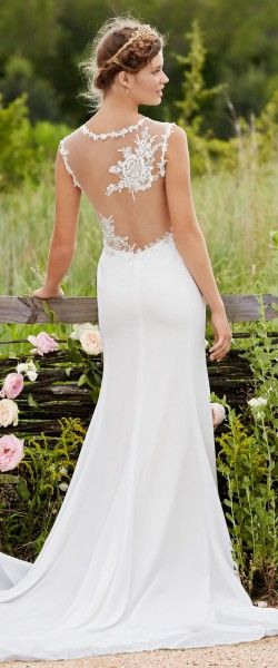 10 54213 Back  Hochzeitskleid Kleid Hochzeit