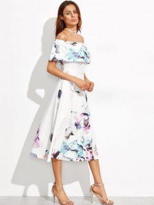 10 Einzigartig Elegante Kleider Midi Ärmel  Abendkleid
