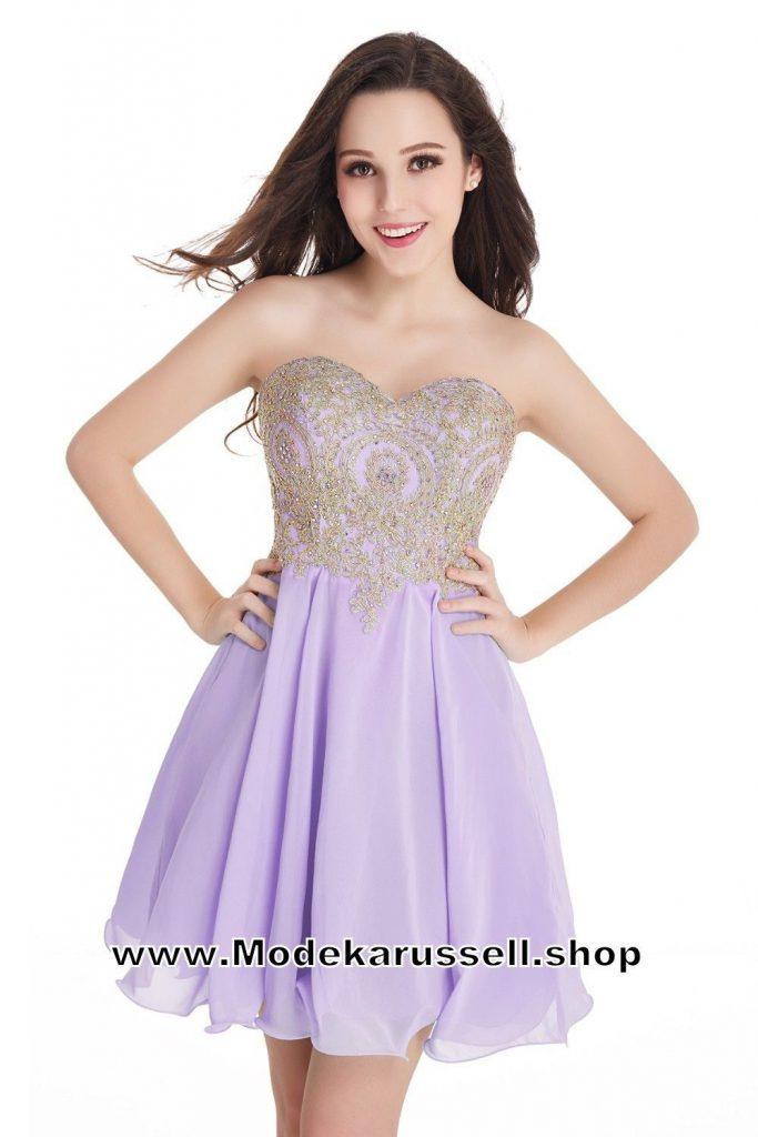10 Fantastisch Flieder Kleid Kurz Stylish  Abendkleid
