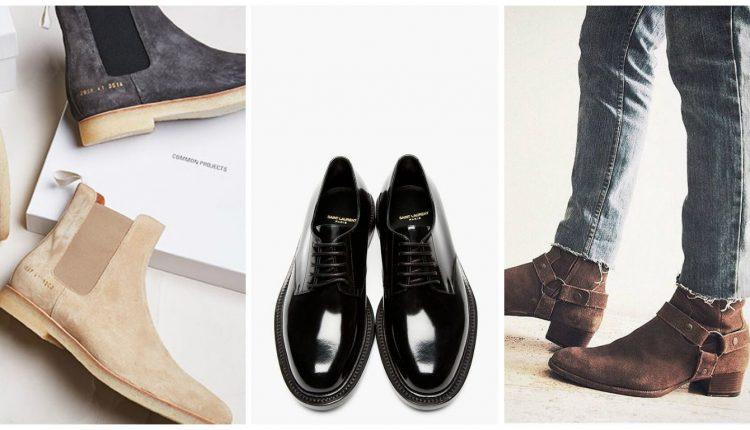 10 Grundstücken Der Kleidung Im Mannes Schrank