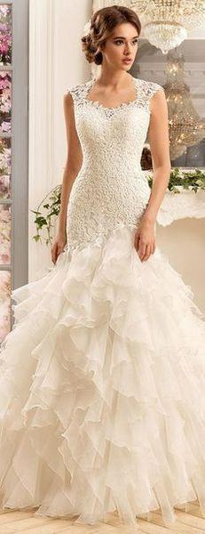 10 Halsausschnitt Hochzeit Kleid Inspiration  Berühmte
