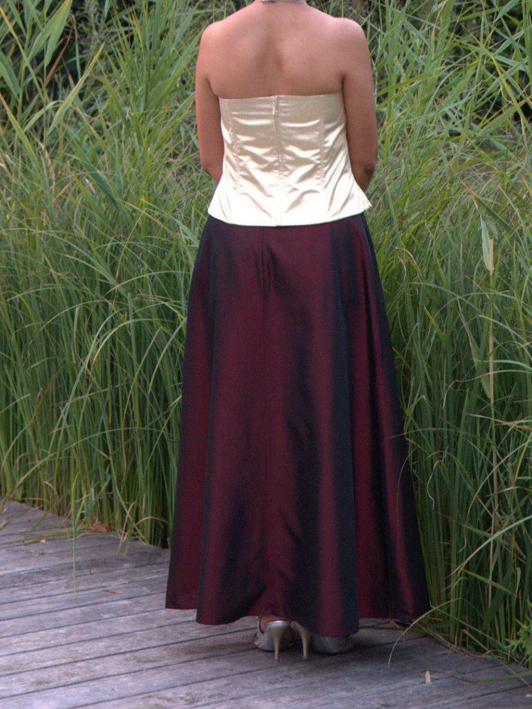 10 Leicht Zweiteiler Abend Kleid Ärmel  Abendkleid