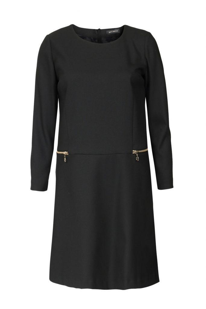 10 Top Schwarzes Langarm Kleid Vertrieb  Abendkleid
